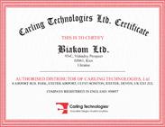 Сертификат Carling Technologies