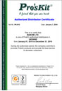 Сертификат Pro'sKit