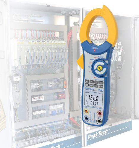 Кліщі / вимірювач потужності Peaktech® 1660