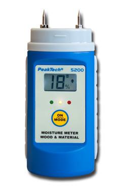 Вимірювач вологи PeakTech® 5200