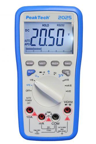 Мультиметр PeakTech® 2025