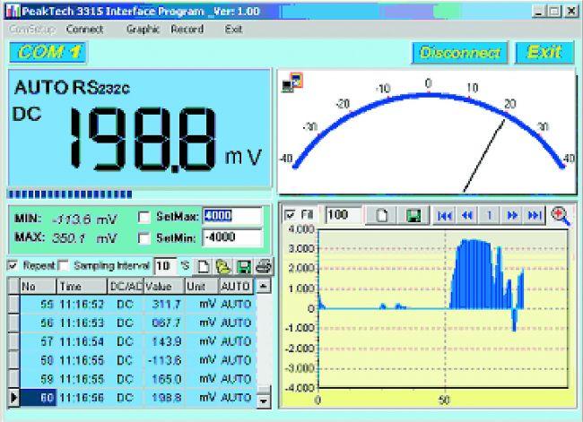 Мультиметр PeakTech® 3315 USB