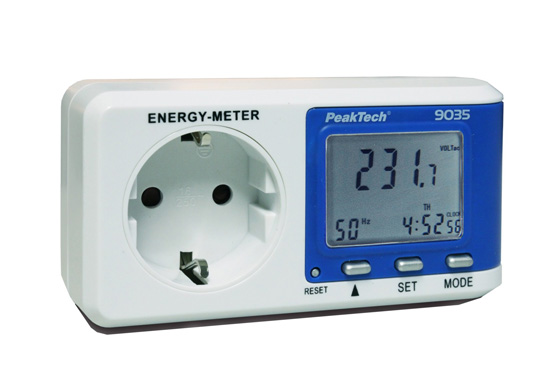 Лічильник енергії PeakTech® 9035