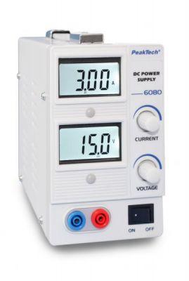 Лабораторний блок живлення PeakTech® 6080