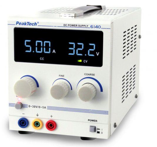 Лабораторний блок живлення PeakTech® 6140