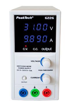 Цифрове лабораторне джерело живлення PeakTech® 6226