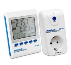 Беспроводной счётчик мощности (передатчик-приёмник) PeakTech® 9040